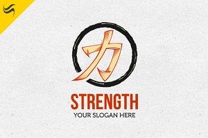 Strength Logo Template