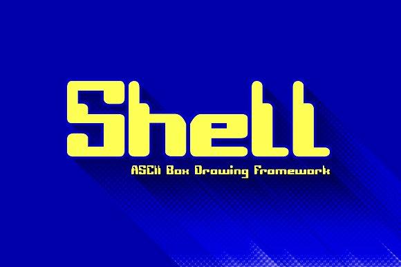Shell ASCII Box Drawing Framework