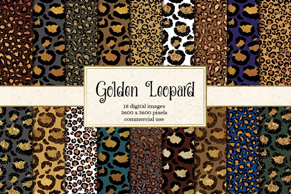 Golden Leopard Patterns