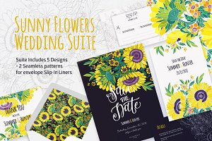 Sunny Flowers Wedding Suite