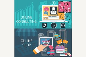 Online Shopping and Consulting