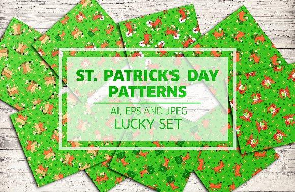 Saint Patrick's Day Doodle Patterns
