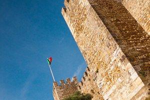 St. George Castle, Lisbon, Portugal