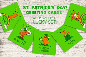 Saint Patrick's Day greeting cards