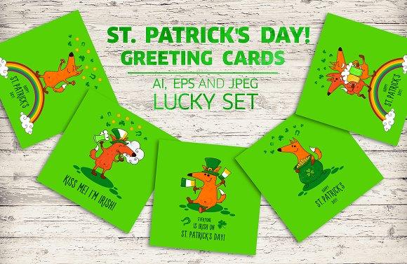 Saint Patrick's Day Greeting Cards