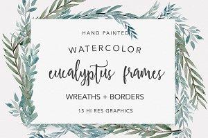 Eucalyptus Wreaths & Frames