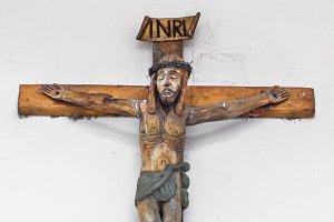 Small wooden crucifix