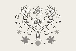 Simple Flowers Design