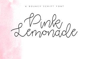 Pink Lemonade - Script Font
