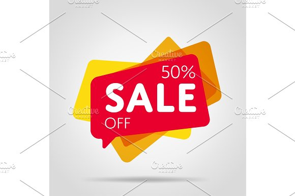 Special Offer Sale Red Tag Isolated