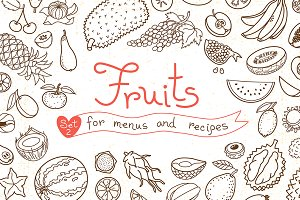 Fruits - Design Set