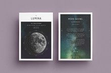 LUMINA Flyer Template by  in Flyers