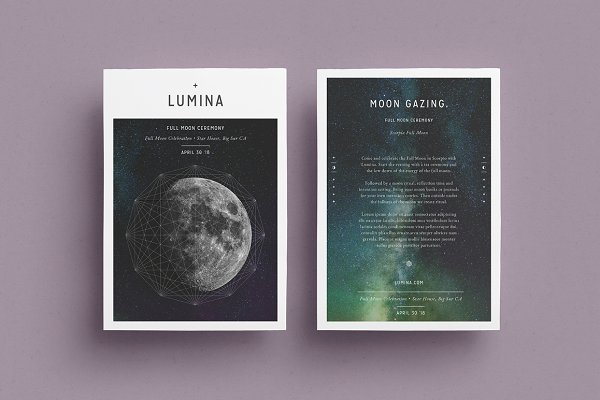 Flyer Templates: 46&2 Collective - LUMINA Flyer Template