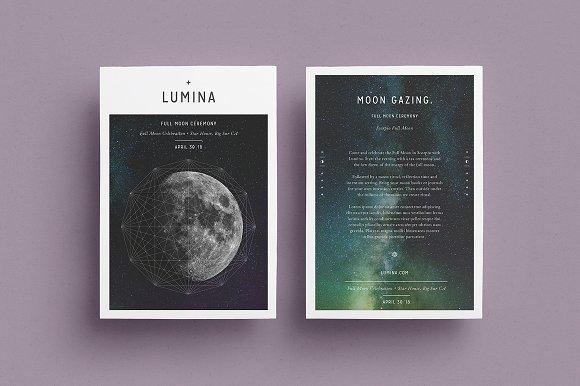 LUMINA Flyer Template