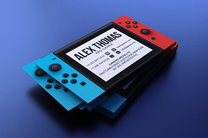 Nintendo Switch Business Card
