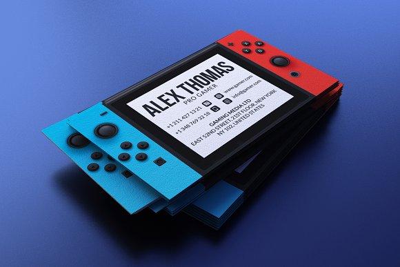 Nintendo Switch Business Card