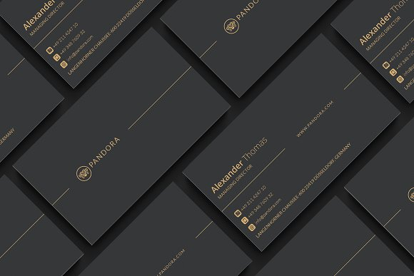 Premium business card business card templates creative market friedricerecipe Gallery