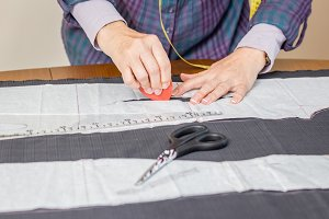 Dressmaker design tailor pattern
