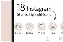 story highlight icons