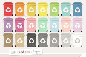 Recycling Bin Clipart