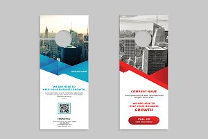 Corporate Business Door Hanger V01