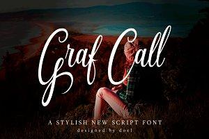 Graf Call New Stylish Script Font