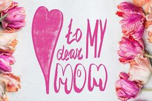 Tulips for dear Mom