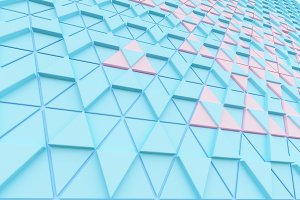 Abstract background of polygonal shapes