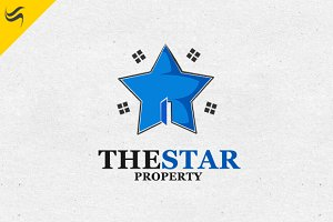 The Star Property Logo Template