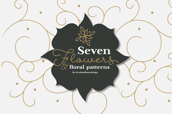 Seven Flowers & Floral Patterns