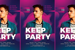 Dj Club Party Flyer Templates