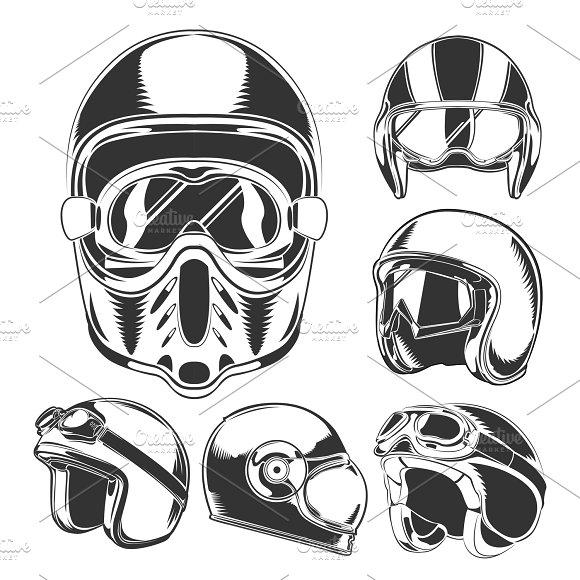 Motorcycle Helmet Collection
