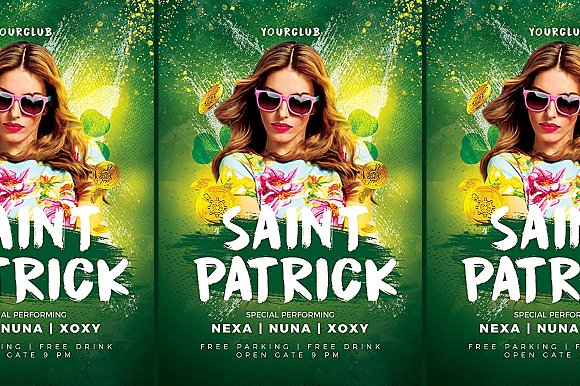 Dj Saint Patrick Party