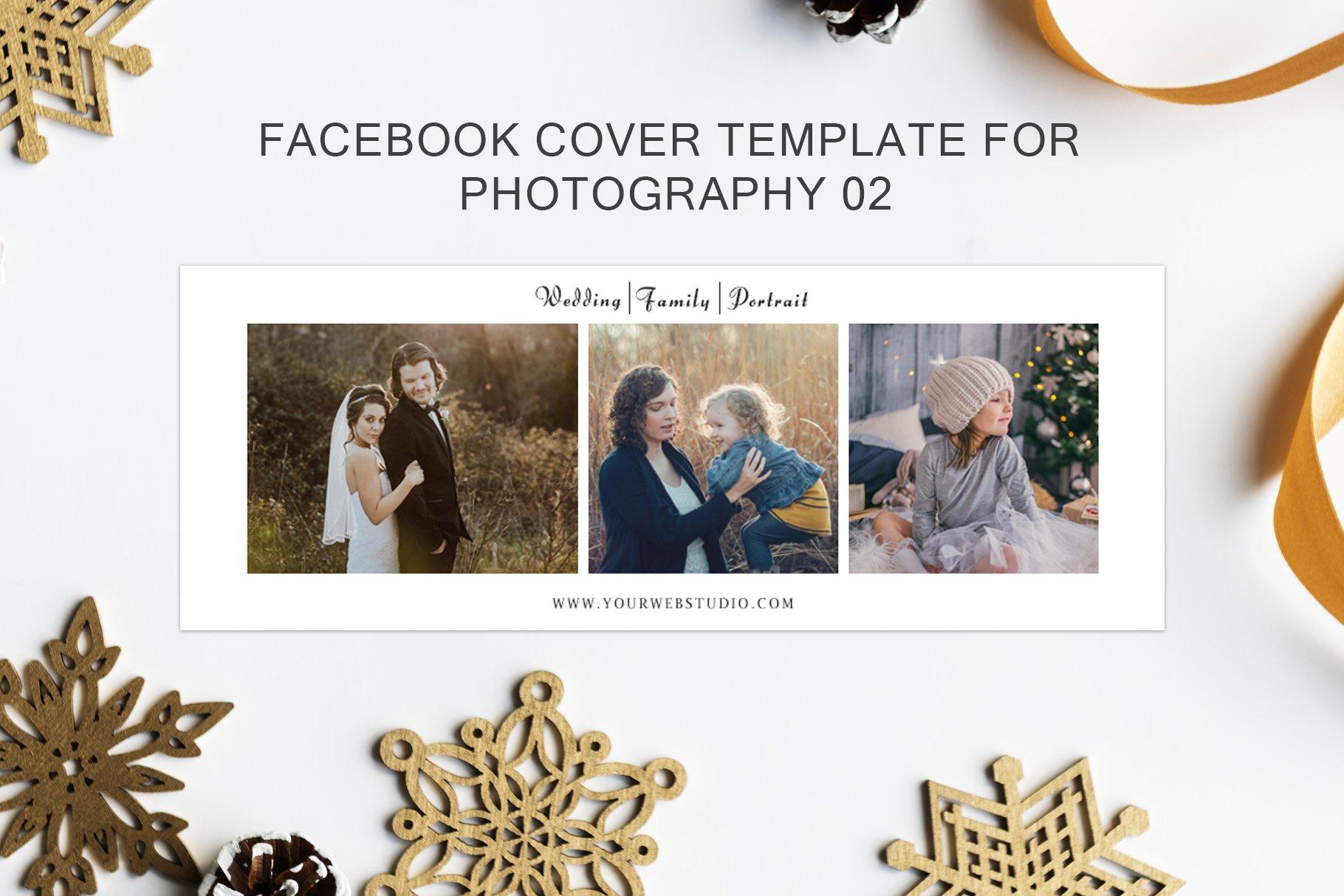 3 Facebook Cover For Photography Social Media Templates Creative
