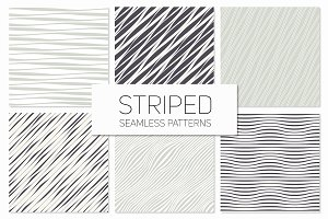 Striped Seamless Patterns Set 1