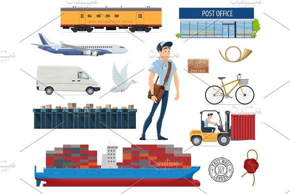 Whoville post office clip art designtube creative