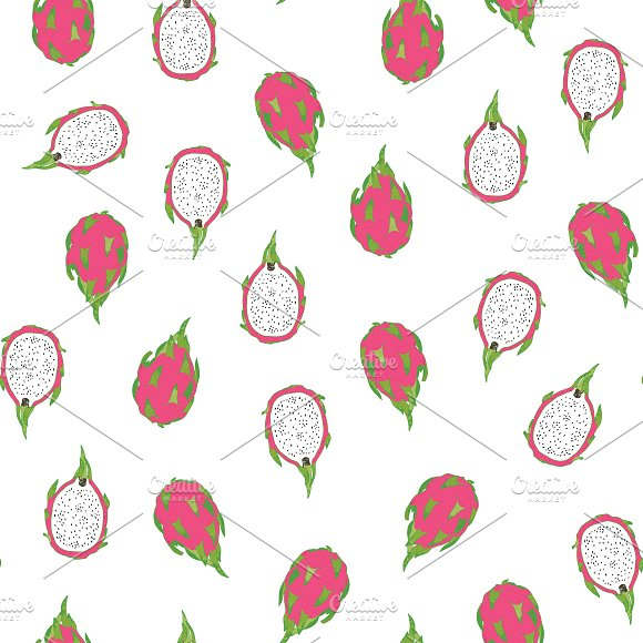 Dragon Fruit in Patterns - product preview 2