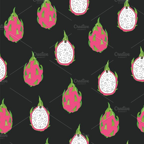 Dragon Fruit in Patterns - product preview 3