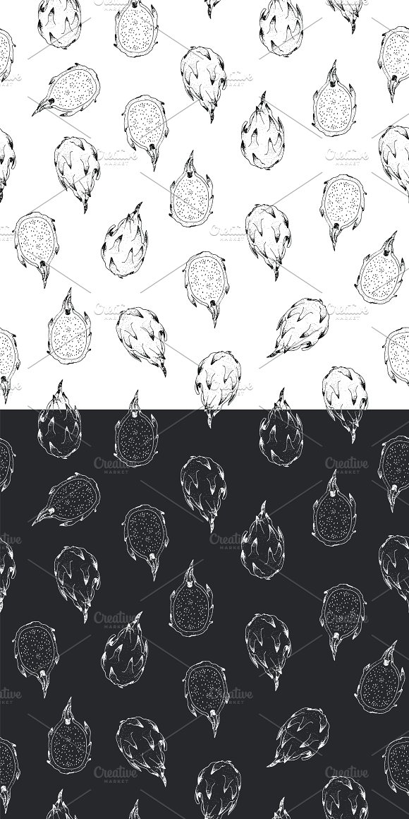 Dragon Fruit in Patterns - product preview 4