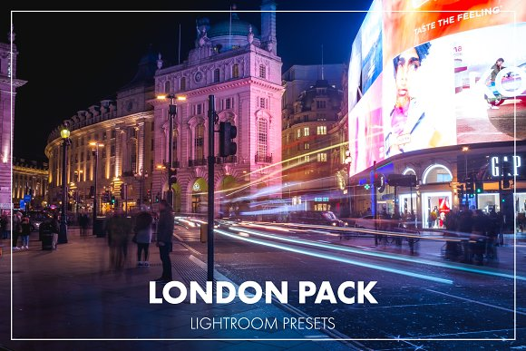 Lightroom Presets London Pack
