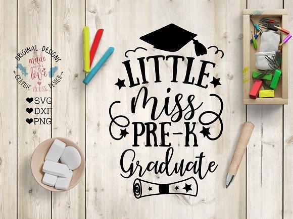 Little Miss Pre-K Graduate