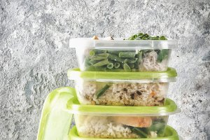 Food control, diet concept