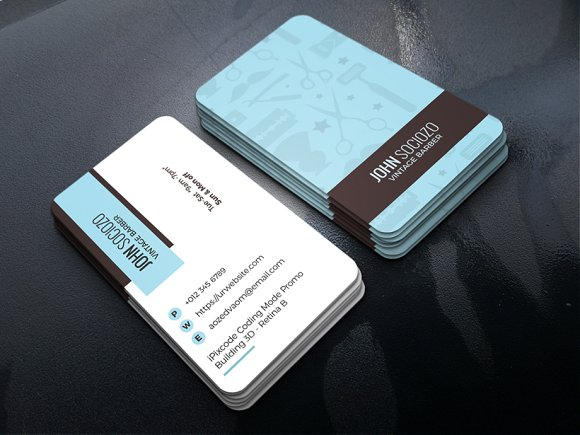 Barber Business Card