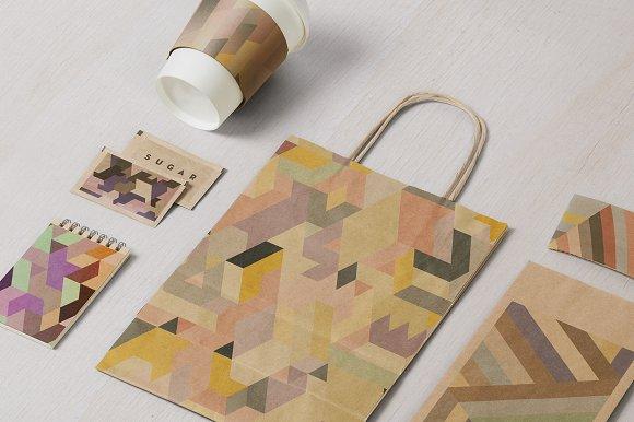 600 Geometric Backgrounds Bundle