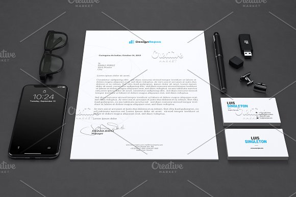 Carbonic Stationary Mockup