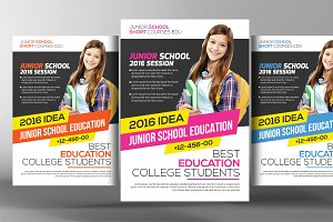 Community College Flyer Template