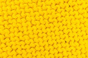 texture knitting for yellow color