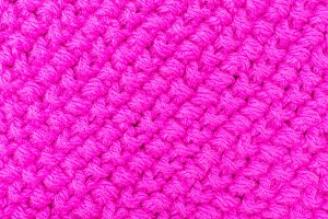 texture knitting for pink color
