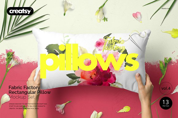 Fabric Factory V5 Rectangular Pillow