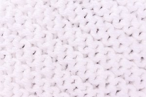 texture knitting for white color
